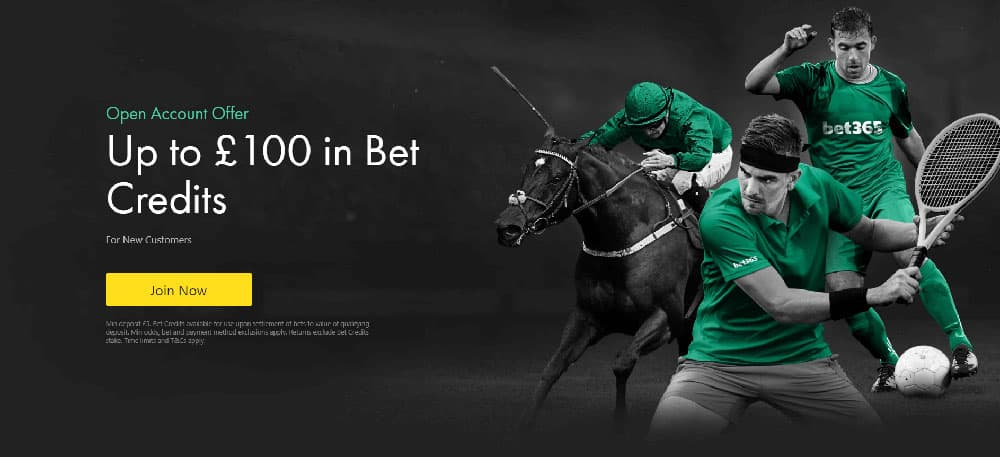 Bet365 bet credits promotion - New UK Bookmakers