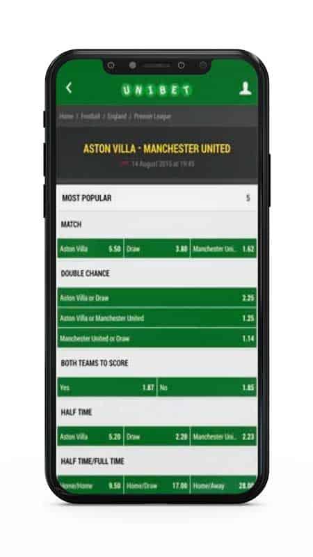 unibet sports mobile app