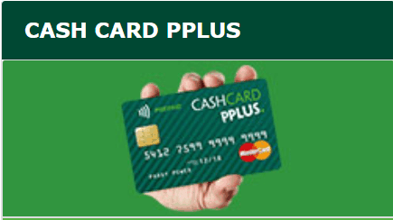 pplus cash card