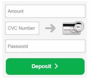 Betfred Deposit Amount