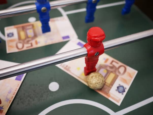 Foosball Table - Cash Out Betting App