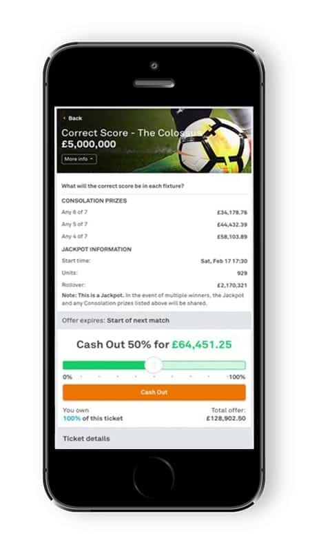Colossus Cash Out Feature