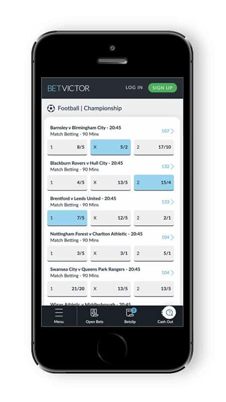 BetVictor Cash Out - Cash Out Betting App