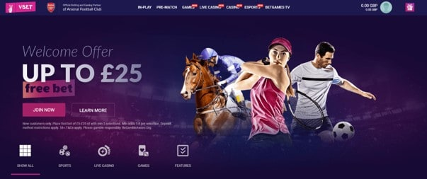 Vbet Welcome Bonus - Vbet Sports Betting Review