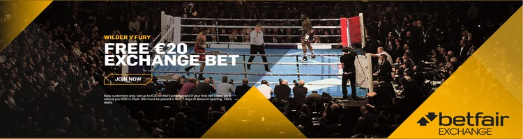 Betfair Free 20€ Exchange Bet