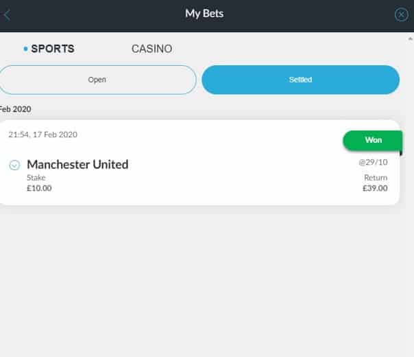 BetVictor - Banking Example 5