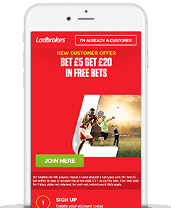 ladbrokes sign up offer
