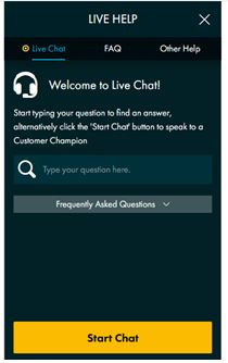 Grosvenor Live Chat