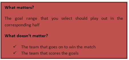 Multi Goal Odds