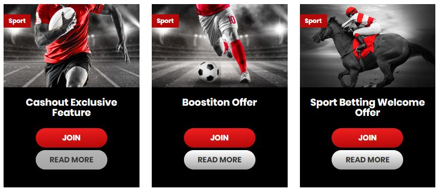 Pre Match Offers at Betiton