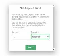 GentingBet Set Deposit Limit
