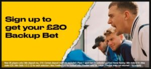 bwin Welcome Offer £20 Back Up Bet