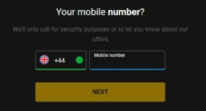 bwin Welcome Offer Mobile Number