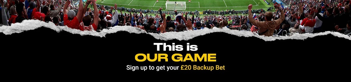 bwin Welcome Offer - get your £20 backup bet