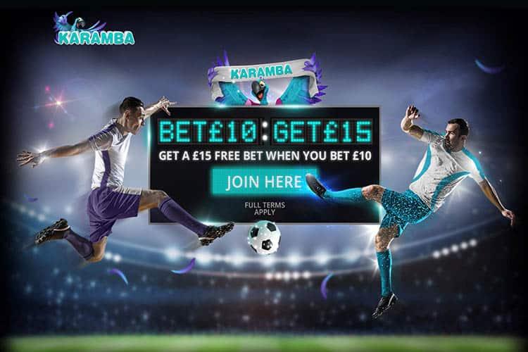 karamba welcome offer - free bet