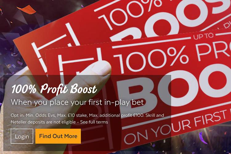 32red profit boost