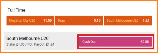 888sport cashout screenshot