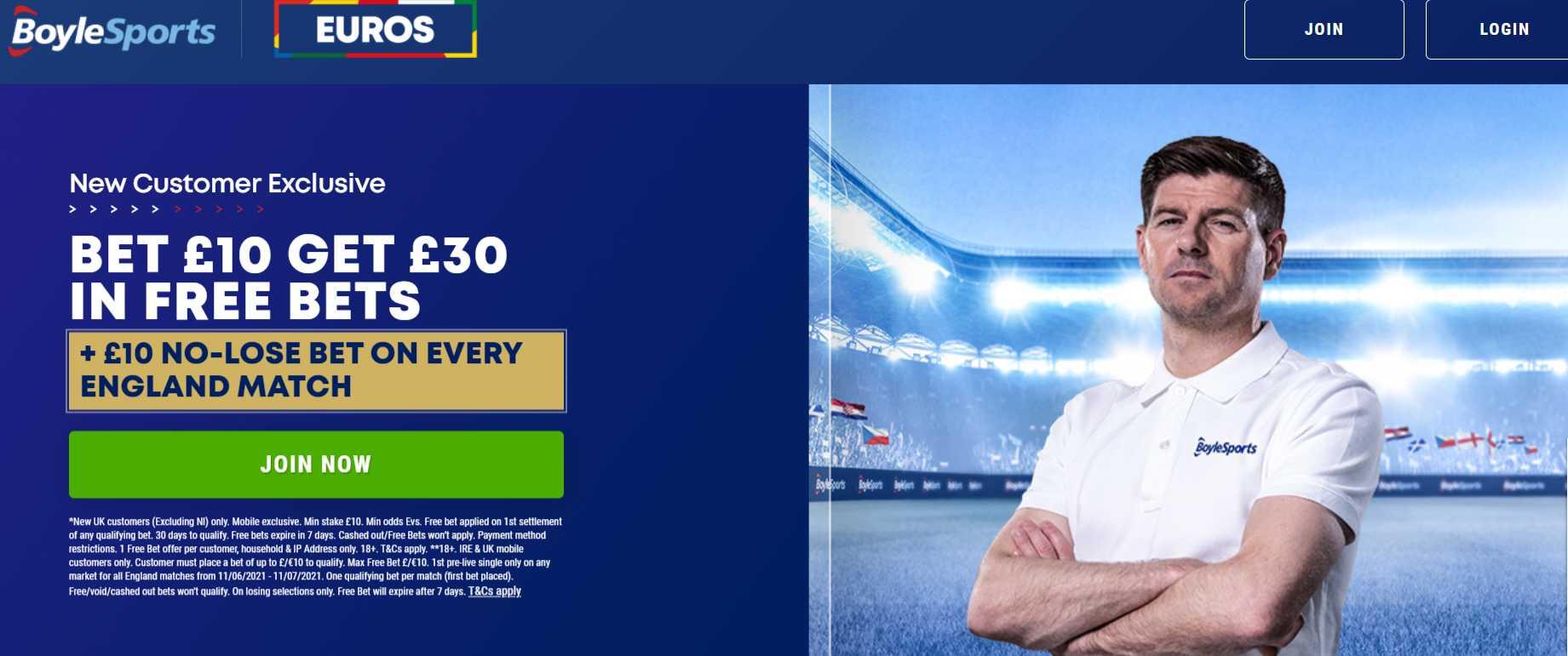 Boylesports euros offer