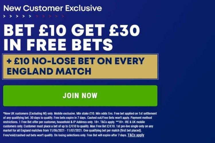 BoyleSports Euros welcome offer