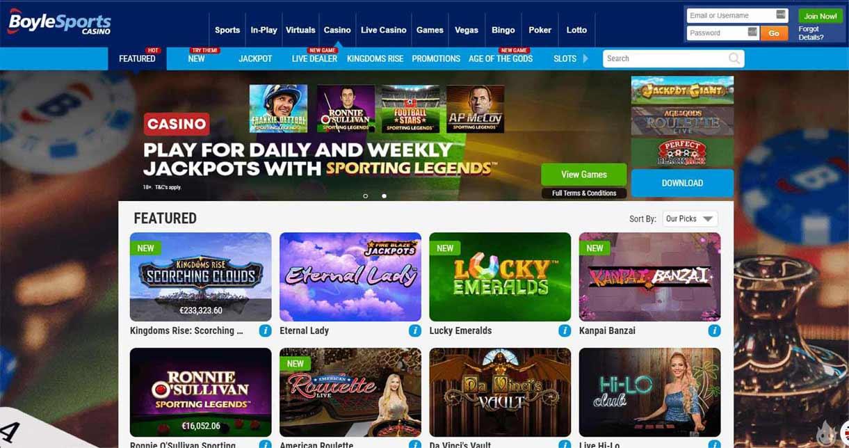 boylesports casino online