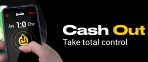 Bwin Cash Out 2020 during a live match