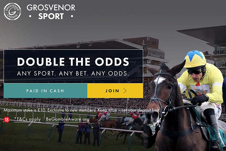 grosvenor sport double the odds