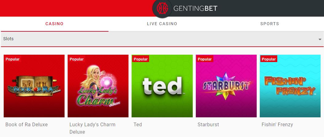 Gentingbet online slots