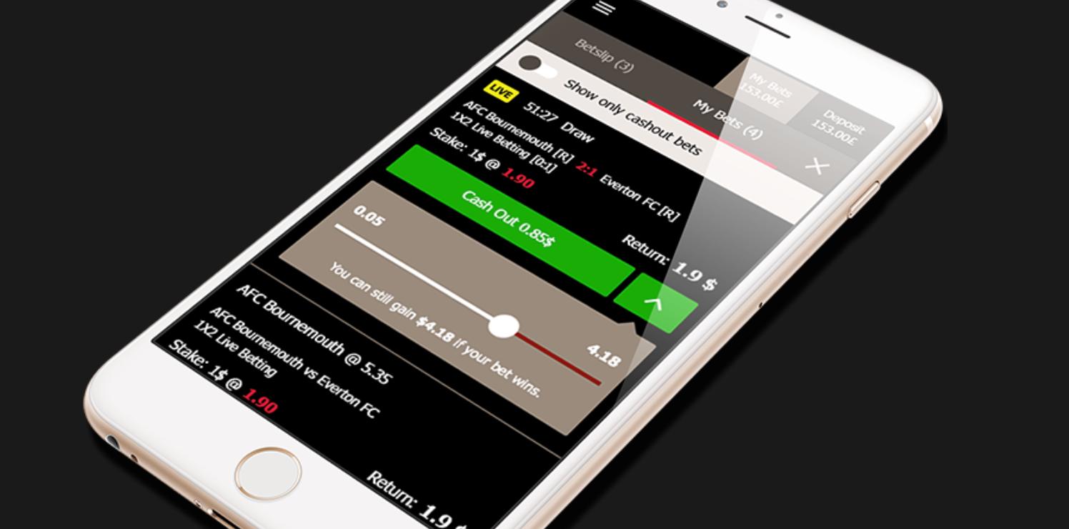Mansionbet cashout mobile screenshot