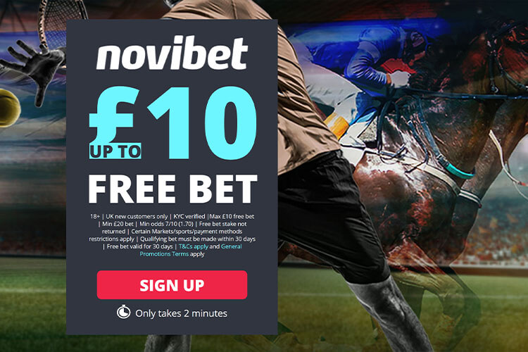 novibet free bet