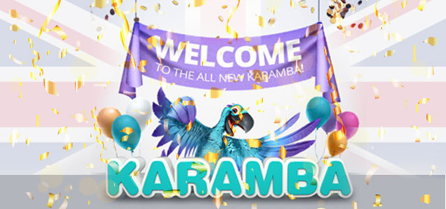 Karamba welcome banner for all new site