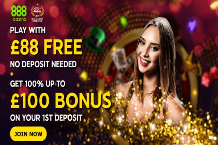 888 Sport No Deposit Bonus - £88 Free