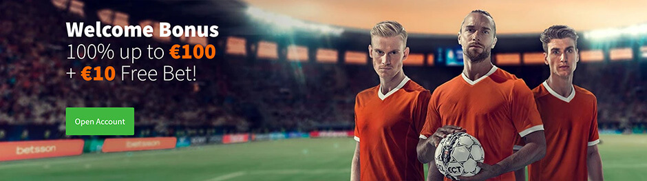 betsson Bonus Welcome Offer