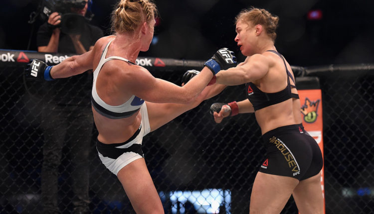 Rousey vs Holm ufc betting
