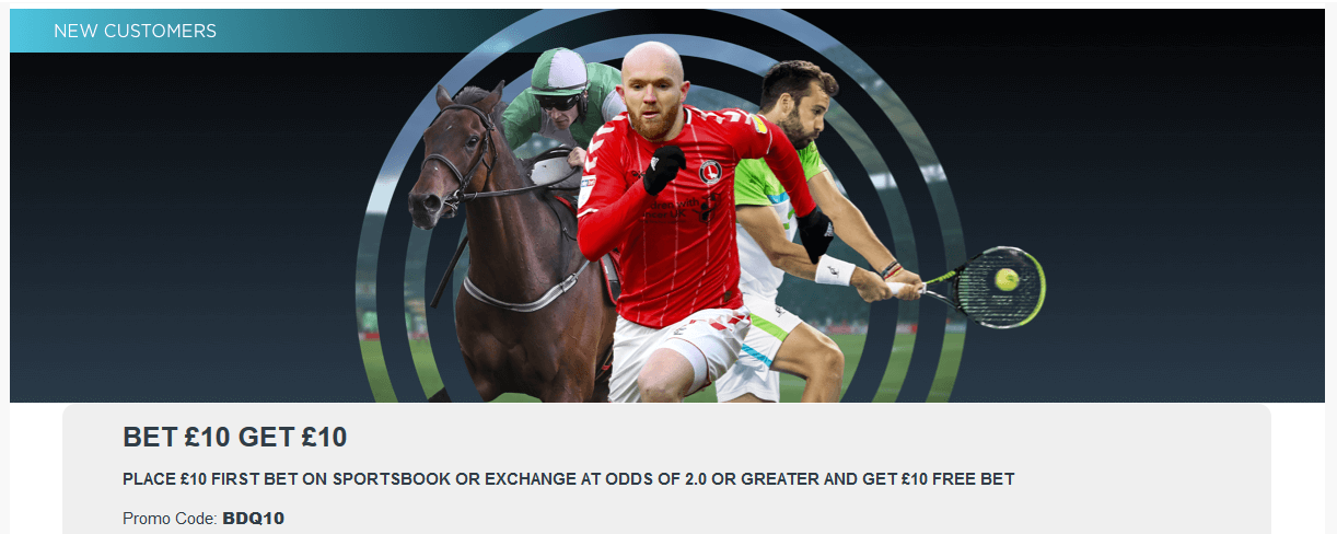 BETDAQ Welcome Offer
