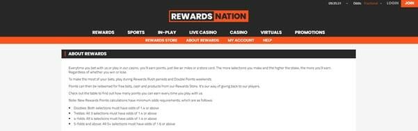 SportNation Rewards Screenshot