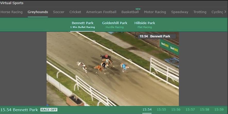 virtual greyhounds at bet365