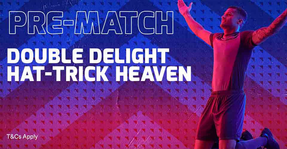 Betfred Double Delight Hat-Trick Heaven Site Banner