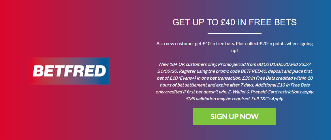 betfred rewards for racing