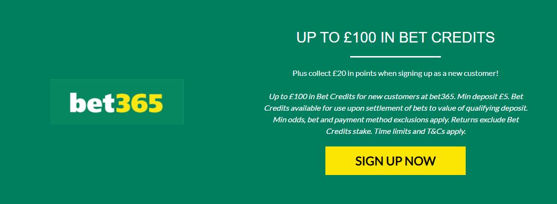rewards for racing bet365