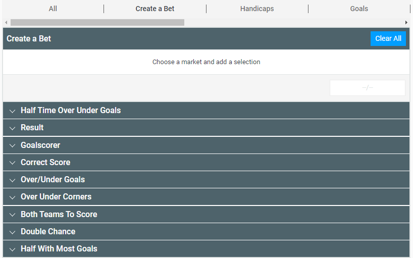 GentingBet create a bet bet builder feature