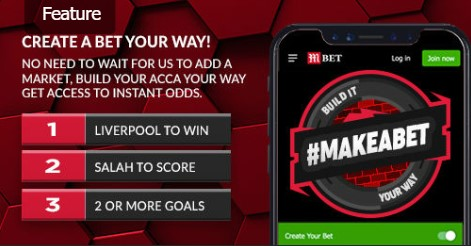 MansionBet create your bet bet builder feature