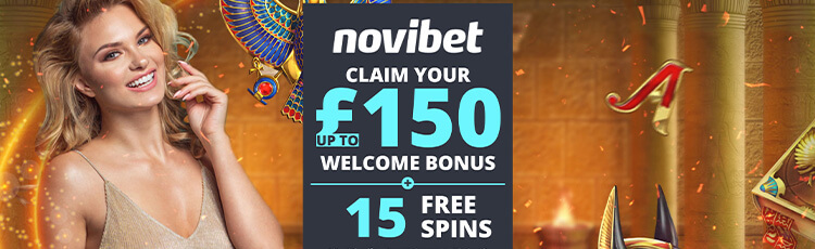 Novibet Casino banner