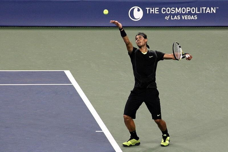 Rafa Nadal at the US Open - tennis us open betting