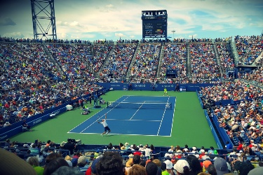 Tennis US Open Match
