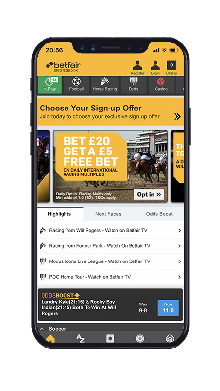 Free betting apps sb global sports betting