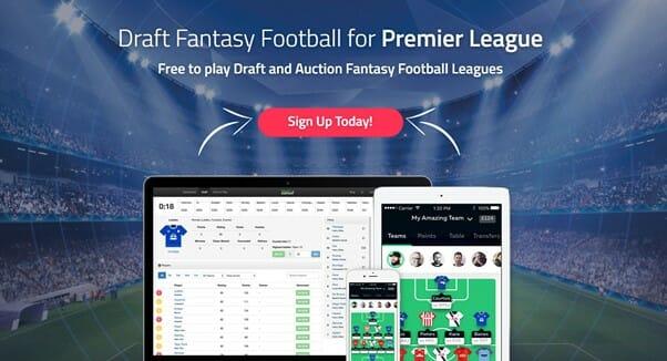 Draft Fantasy Football Screenshot