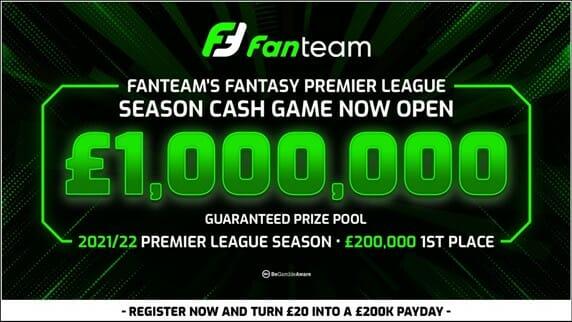 FanTeam Premier League Season 2021-22 Screenshot