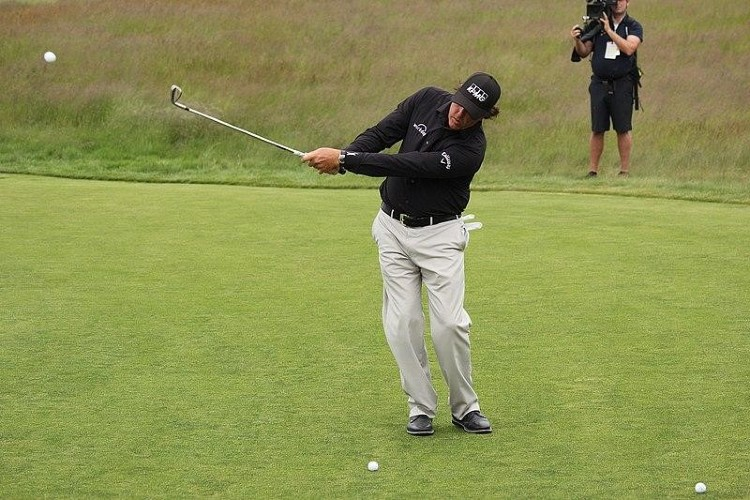 Phil Mickelson at the US Open