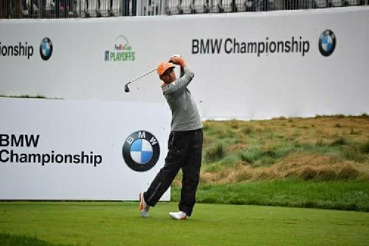 Golfer at BMW Aronimink Tournament