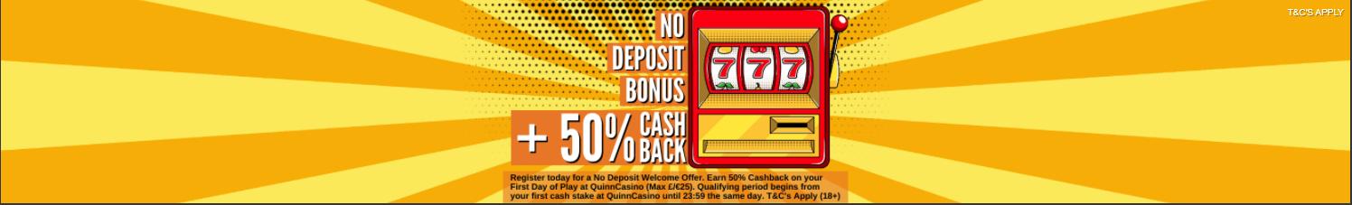 Quinnbet Casino Welcome Bonus